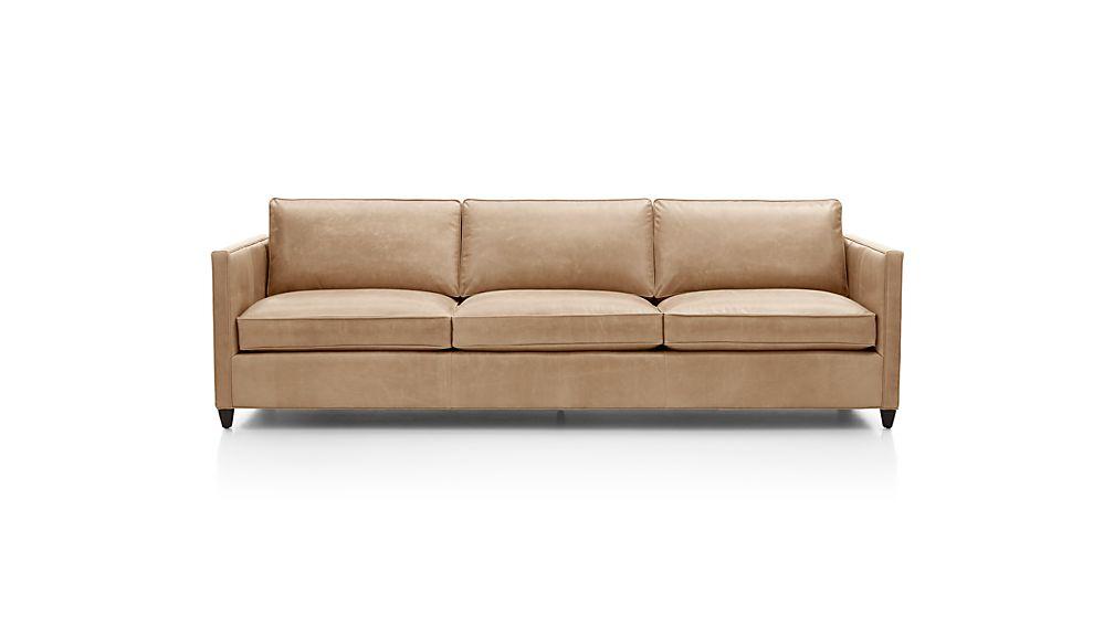 "Dryden Leather 3-Seat 103"" Grande Sofa"