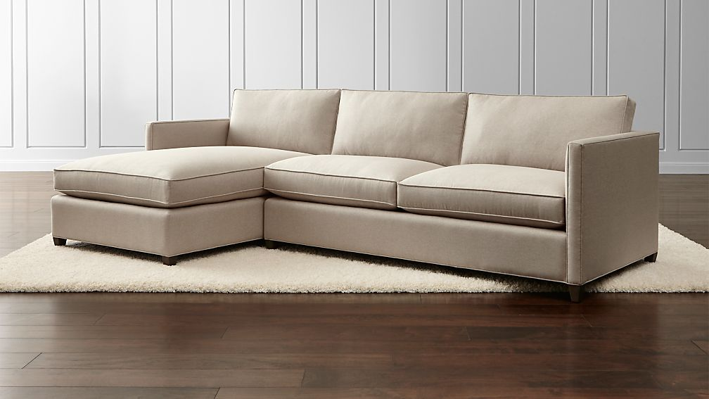 Dryden 2Piece Sectional Crate and Barrel