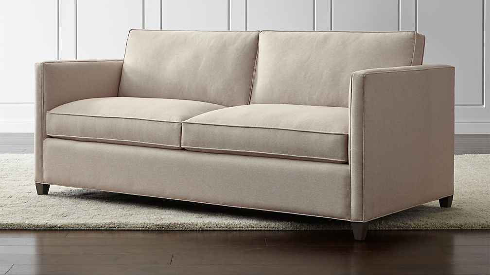 Dryden Small Modern Sofa + Reviews | Crate and Barrel