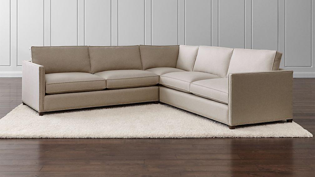 dryden nailhead trim sofa reviews crate and barrel - Nailhead Trim Sofa