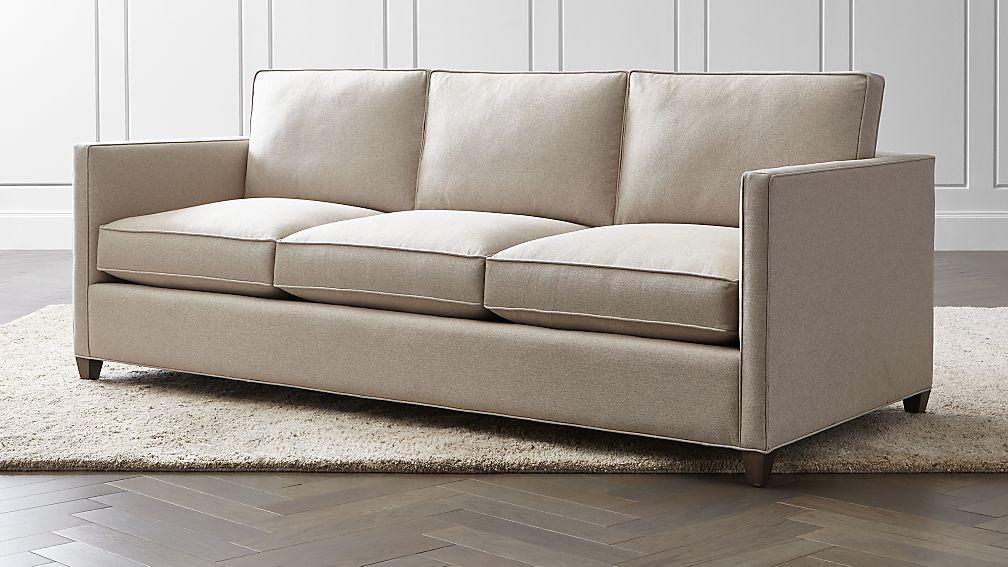 Dryden 3 Seat Queen Sleeper Sofa Reviews Crate And Barrel