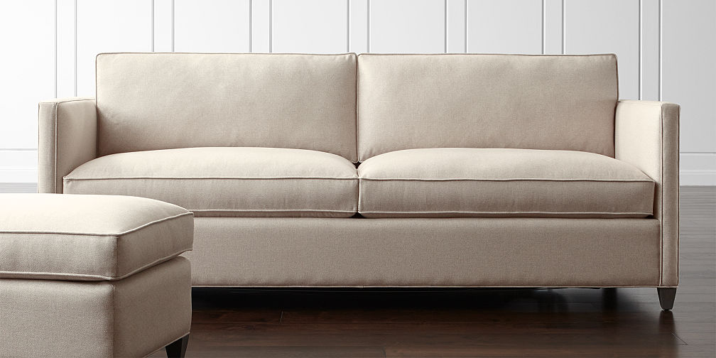 Crate And Barrel Hennessy Sofa Catosfera Net