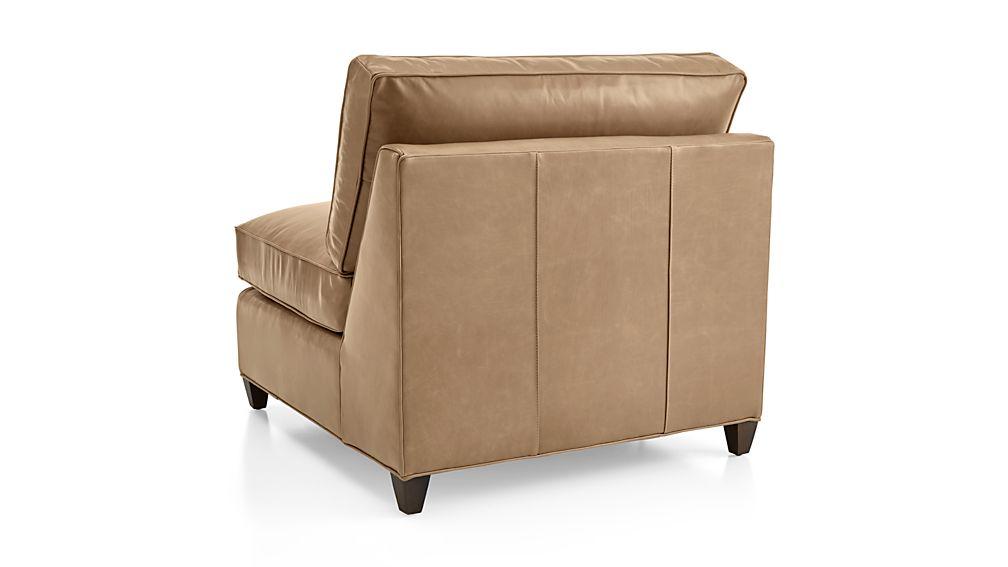 Dryden Leather Armless Chair