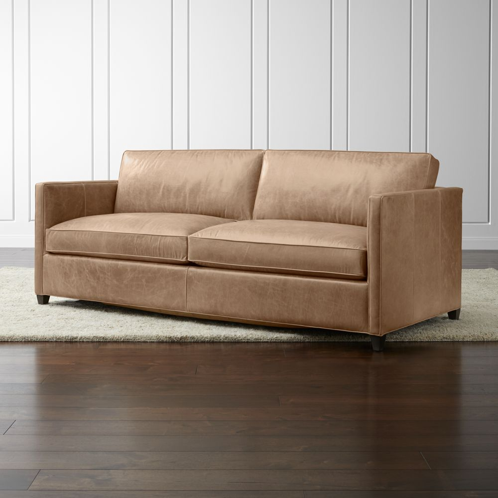 Dryden Leather Sofa - Crate and Barrel