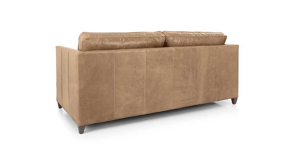 Dryden Leather Full Sleeper Sofa with Air Mattress