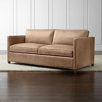 Dryden Leather Apartment Sofa