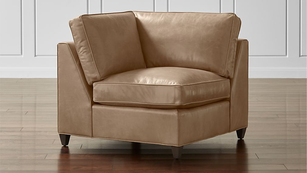 Dryden Leather Corner Chair