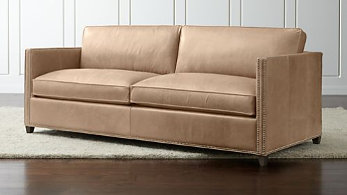 sofa beds and sleeper sofas crate and barrel rh crateandbarrel com leather sleeper sofas full leather sleeper sofas queen