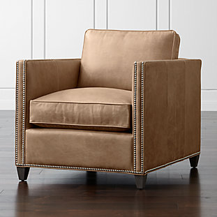 dryden 2 piece sectional with nailheads crate and barrel. Black Bedroom Furniture Sets. Home Design Ideas