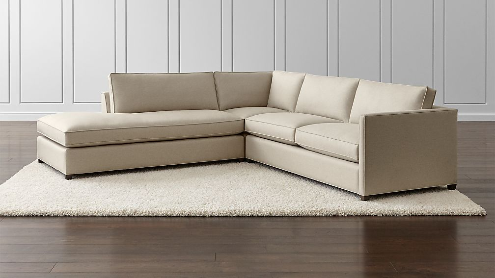 Dryden 3 Piece Left Bumper Sectional Reviews Crate And