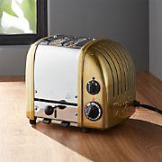 Dualit ® NewGen 2-Slice Brass Toaster