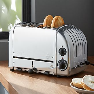 Dualit ® NewGen 4-Slice Chrome Toaster