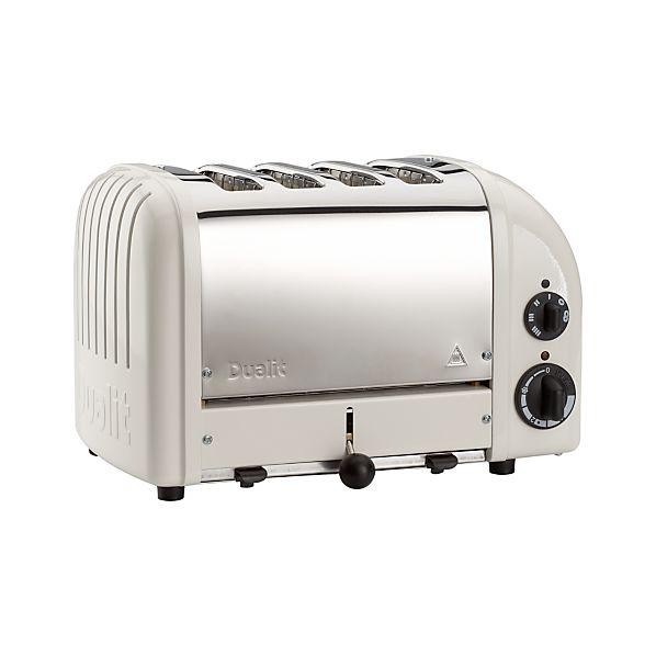 Dualit ® NewGen Canvas White 4-Slice Toaster