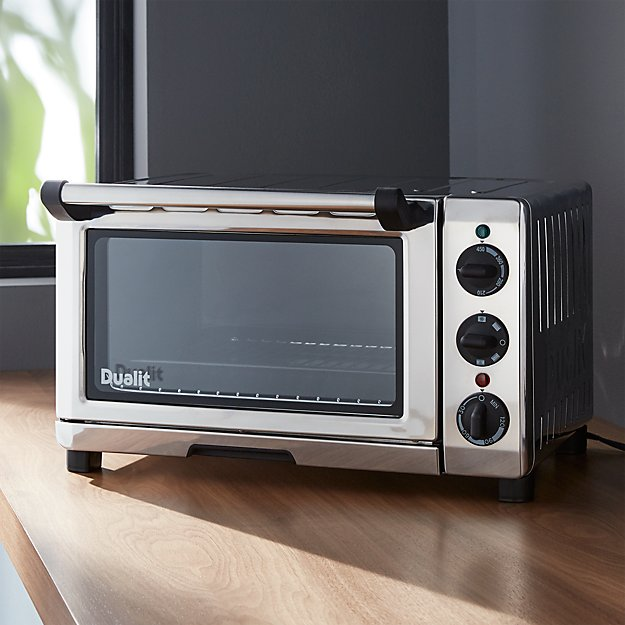 Countertop Oven Professional : Dualit ? Professional Mini Toaster Oven Crate and Barrel