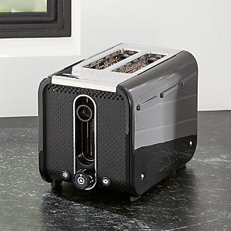 Studio by Dualit ™ Black/Stainless Steel 2-Slice Toaster