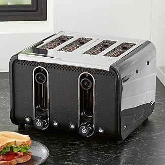 Studio by Dualit ™  Black/Stainless Steel 4-Slice Toaster
