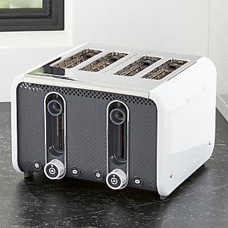 Studio by Dualit ™ White/Grey 4-Slice Toaster