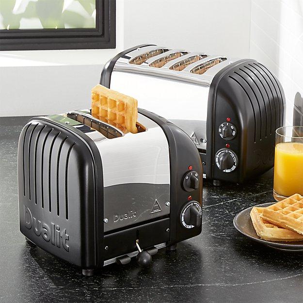 Dualit ® NewGen Matte Black Toaster