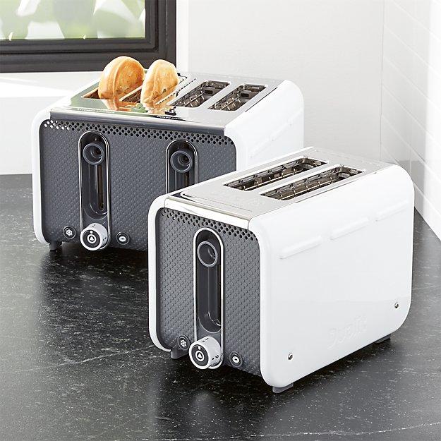 Studio by Dualit ™ White/Grey Toaster