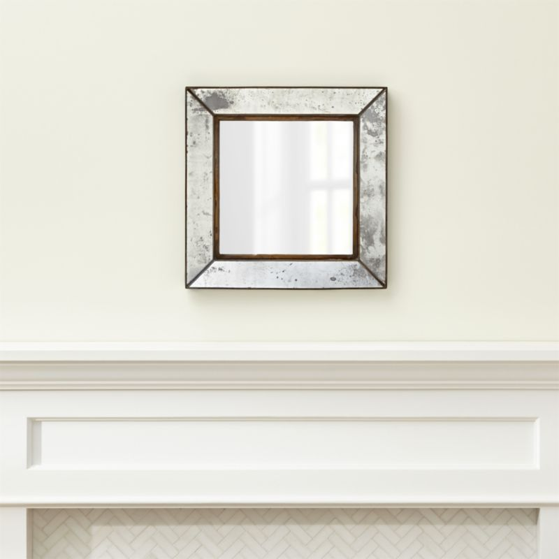 sc 1 st  Crate and Barrel & Dubois Small Square Wall Mirror + Reviews | Crate and Barrel
