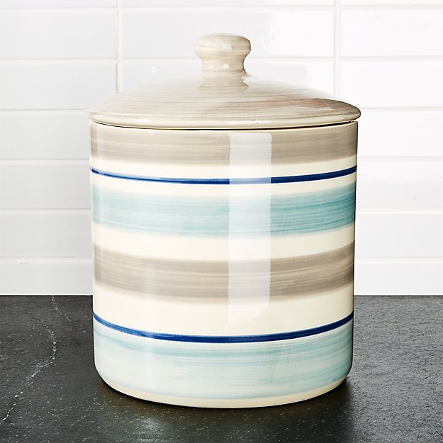 Dumont Stripe Large Canister