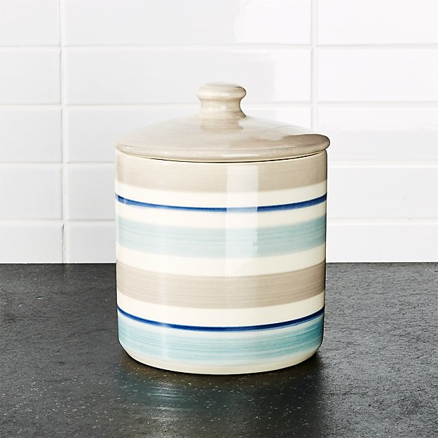 Dumont Stripe Small Canister
