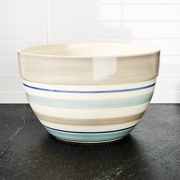 Dumont Stripe Large Bowl
