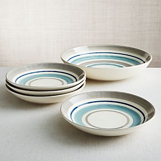 Dumont Stripe Bowls, Set of 5