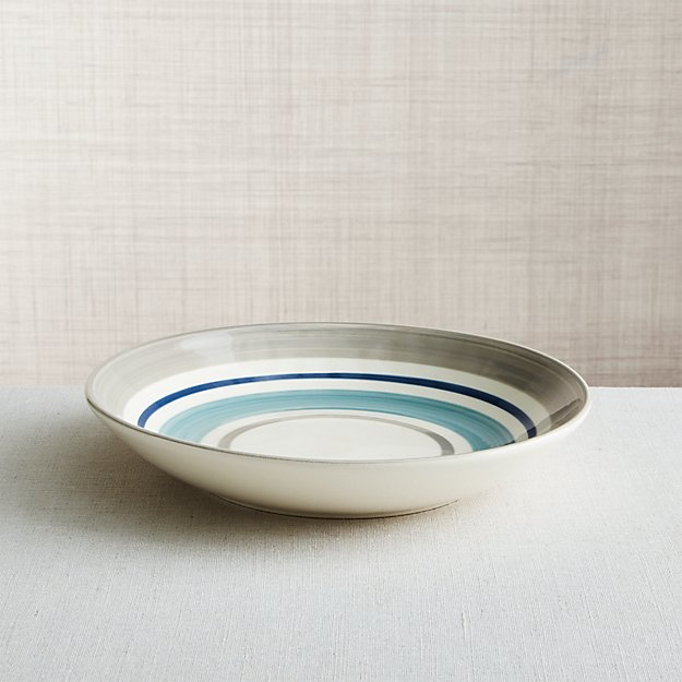 Dumont Stripe Low Bowl