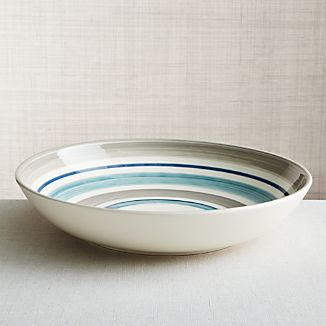 Dumont Stripe Serving Bowl