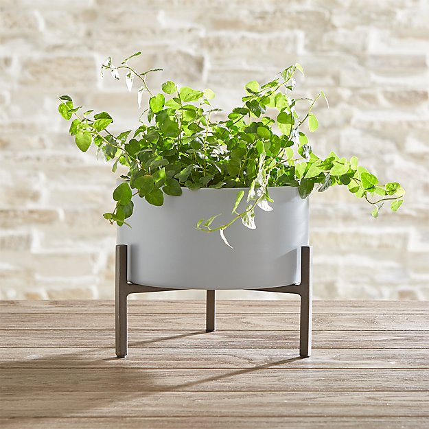 Dundee Large Tabletop Planter - Image 1 of 3