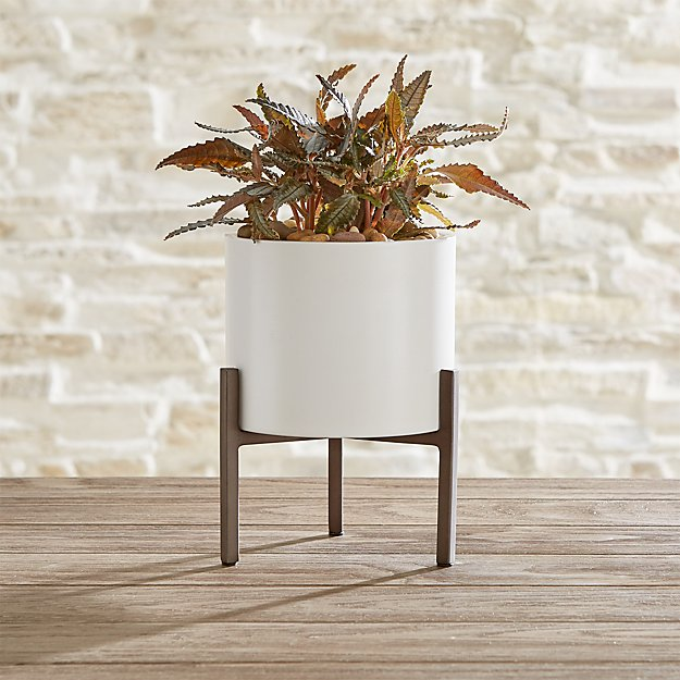 Dundee Small Tabletop Planter - Image 1 of 3