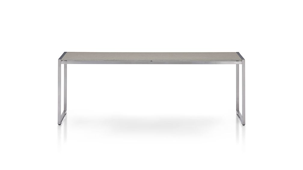 Dune Coffee Table with Pebbled Glass