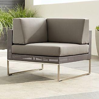 Dune Corner Chair with Sunbrella ® Cushions