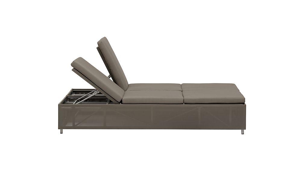 Dune Double Chaise Sofa Lounge with Sunbrella ® Cushions