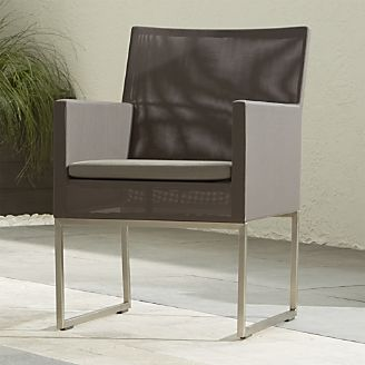 Dune Dining Chair With Sunbrella Cushion