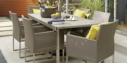Amazing Outdoor Patio Dining Furniture Crate And Barrel Gmtry Best Dining Table And Chair Ideas Images Gmtryco