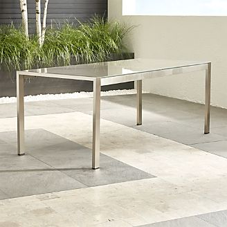 crate and barrel patio furniture light grey dune rectangular dining table with taupe painted glass outdoor patio furniture crate and barrel