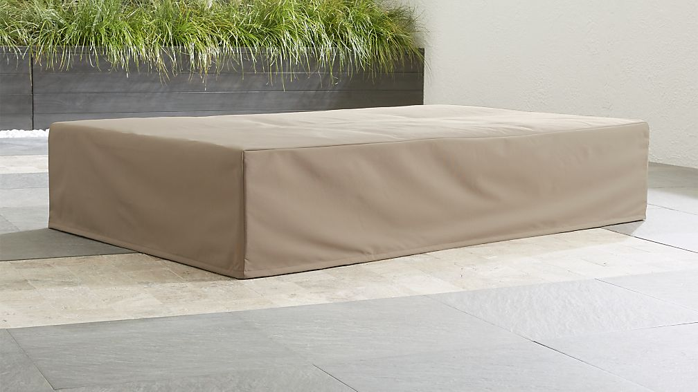 Dune Outdoor Double Chaise Cover Crate and Barrel