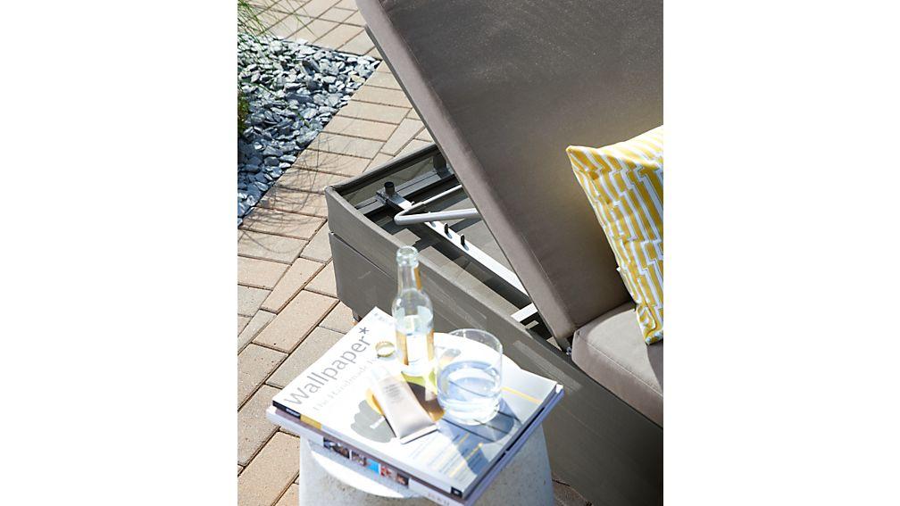 Dune Double Chaise Sofa Lounge With Sunbrella 174 Cushions