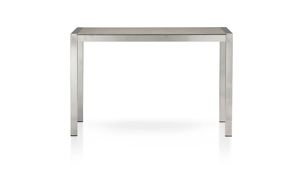 Wonderful ... Dune High Dining Table With Pebbled Glass ...