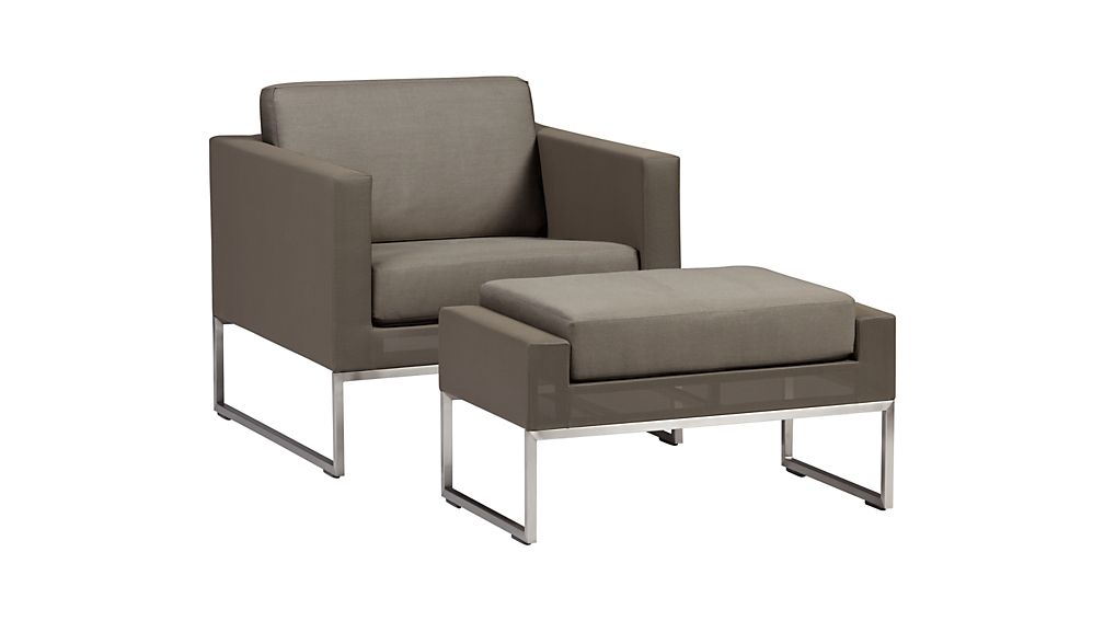 Dune Lounge Chair with Cushion on Dune Outdoor Living id=84807
