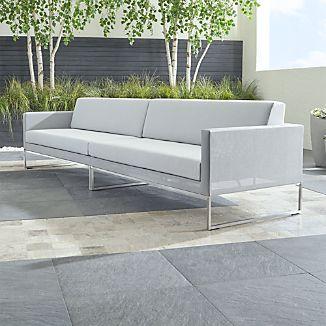 Dune 2 Piece Sectional Sofa With Sunbrella ® Cushions