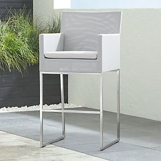 Dune Bar Stool With Sunbrella Cushion
