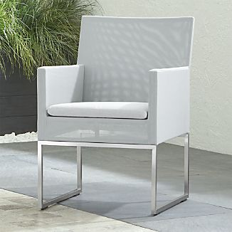 Elegant Dune Dining Chair With Sunbrella ® Cushion