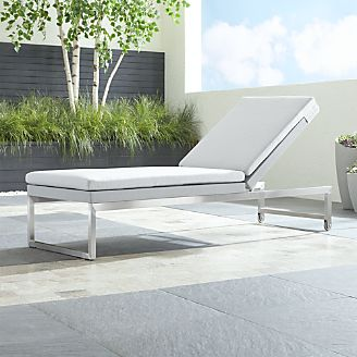 Dune Chaise Lounge With Sunbrella ® Cushions