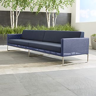 Dune 2-Piece Sectional Sofa with Sunbrella ® Cushions