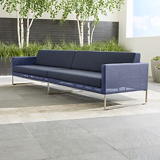 pin it dune 2piece sectional sofa with sunbrella cushions - Outdoor Sectionals