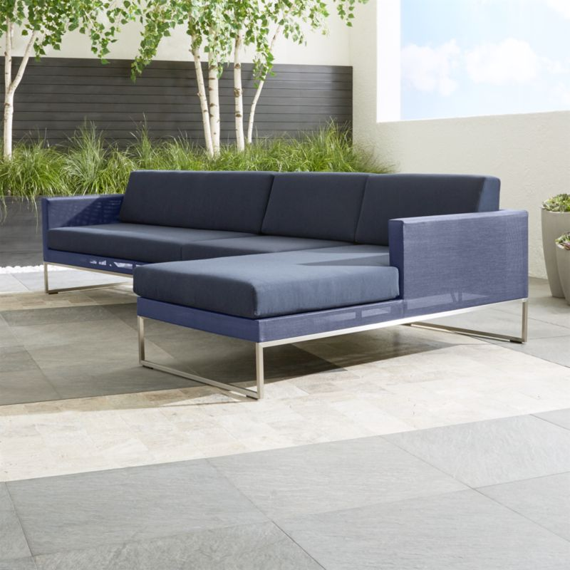 3 Piece Right Arm Chaise Sectional Sofa