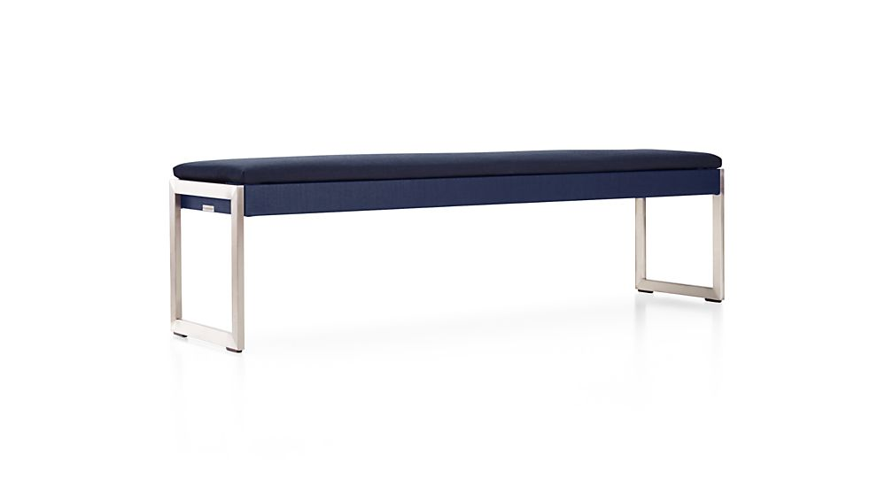 Dune Dining Bench with Sunbrella ® Cushion
